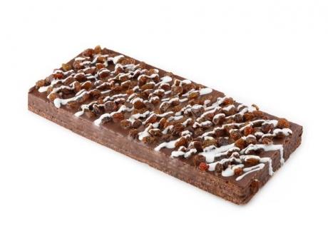 """Торт вафельный """"Шоколадный с изюмом"""""""